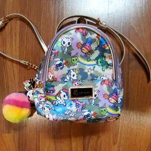 Toki Doki Tokidoki Mini Backpack camo kawaii